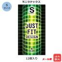 コンドーム ジャストフィットデザインS 34mm 不二ラテックス(12……