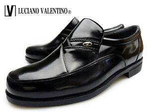 ルシアーノ・ヴァレンチノ ビジネス シューズ ブラック