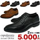 ビジネスシューズ 2足セット 靴 紳士靴 選べる6種類 スクエアトゥ 革靴 紐 ダブルモンク ビット 靴 【2set】