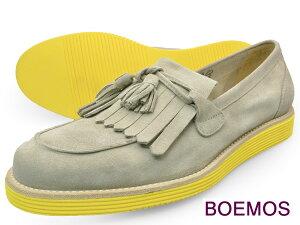 レビューのお約束で防水スプレープレゼント!BOEMOS (ボエモス) イタリア製 タッセル ローファ...