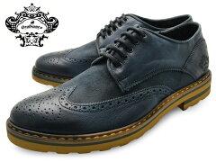 OROBIANCO オロビアンコ シューズ BONOLA ボノーラ PETROL (NAVY) メンズ 本革 ウイングチップ イタリア製 ネイビー 革靴 紳士靴 靴 くつ 父の日