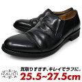 RAUDIラウディメンズ革革靴スリッポンカジュアルシューズプレーントゥローカット本革レザー黒ブラック靴シューズかっこいいおしゃれ送料無料