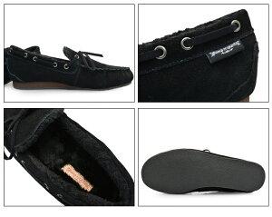 BumpN'GRINDバンプアンドグラインド2110メンズモカシンシューズ本革スエード靴MENSMOCASINSHOESSUEDE黒ブラックBLACKブランド