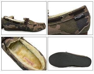 BumpN'GRINDバンプアンドグラインド2110メンズモカシンシューズ本革スエード靴MENSMOCASINSHOESSUEDE迷彩柄カモフラージュ柄CAMOUFLAGEブランド