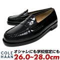 コールハーンcolehaanローファー靴メンズ黒ブラック革靴本革おしゃれビジネスカジュアルレザーマッケイ製法26cm26.5cm27cm27.5cm28cmコインローファー