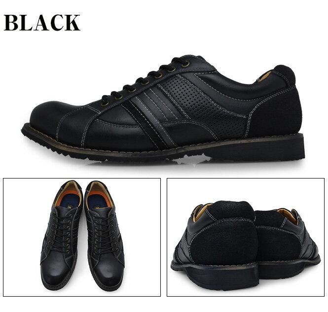 EAGLEEYEイーグルアイメンズアンティーク加工カジュアルシューズ黒茶色赤ブラックブラウンワイン靴くつEE-2179