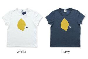 【s&nd(セカンド)】s&ndレモンプリントTシャツ/sd-170111/プリントT/プリントTシャツ/レディース/フルーツ柄/半袖