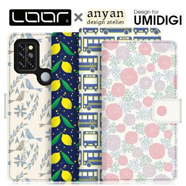 LOOF × anyan UMIDIGI A9 Pro A7S A3X X Power3 手帳型 ベルトあり ケース 右利き 左利きA 9 Pro 7 S 3 X Power 3 ブック型ケース 財布型 カバー シンプル 軽量 手帳型カバー 手帳型ケース カード収納 カードポケット スタンド 北欧