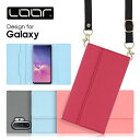 LOOF Strap Galaxy Note 20 Ultra A41 ケース クラッチバッグ風 ストラップ S20Ultra S20 plus……