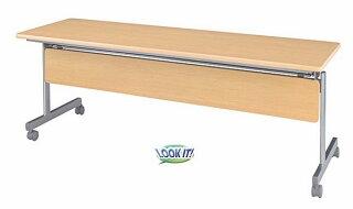 ★新品★スタックテーブル150cm折りたたみ受付打合せ机