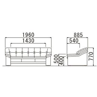 ★50%OFF★応接セット3点応接室用ソファセット皮張りアームチェア3人掛け応接家具セットオフィス家具来客用シンプルデザインRE-2033S4