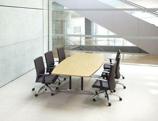 ★送料無料★会議テーブルWAL-2412Bつくえミーティング高級
