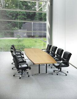 ★50%OFF★ミーティングテーブルADWL-3612B高級木目幅3600