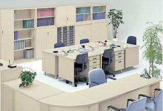 6号片袖机W1060mm100CG型デスクシリーズワークデスクオフィスTOYOSTEELトヨスチール平机両袖机事務用学習机書斎机100CG-861N