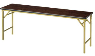 ★新品★折り畳み会議テーブル奥行き450mmワイド脚KWL-1845