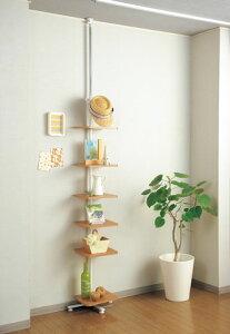 ★53%OFF★ 多目的ラック KHTT-300 飾り棚 つっぱり棒 置き台 壁