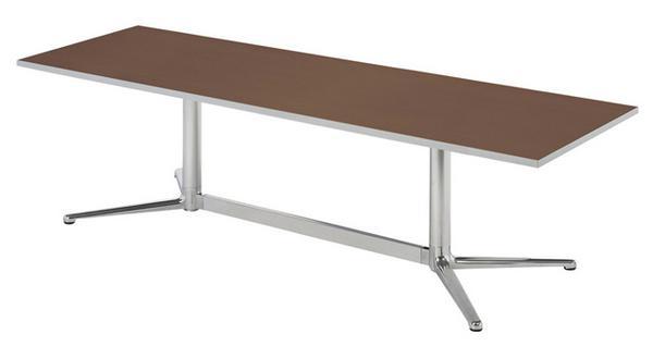 会議テーブル KKH-1890K 角型 シャープ ホール 机 LOOKIT オフィス家具 インテリア:LOOKIT オフィス家具 インテリア