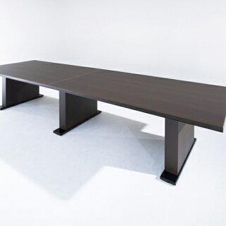★新品★会議テーブルW3200デスク大型高級会議NBNX-3212