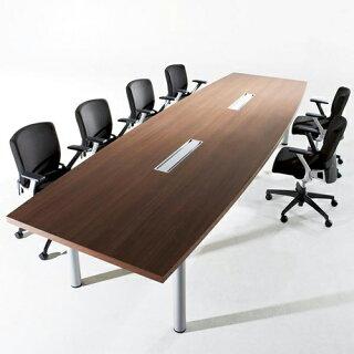 会議テーブル2412角型オフィス打合せMTY-2412K