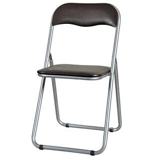 パイプ椅子パイプイススライド式ミーティングチェア2色ブラウンブルー会議用イス折畳みイス折り畳み椅子打合せダイニングチェア集会講演YH-31N