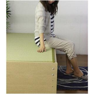 畳ベッドシングル畳もフレームもオール日本製防湿防虫加工畳ベンチタタミベッドベンチ長椅子日本製ベッド国産介護ベッド介護用334