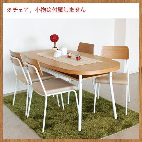 ★soldout★ ダイニングテーブル 木製 北欧 つくえ 12-MALM-160 ルキット オフィス家具 インテリア