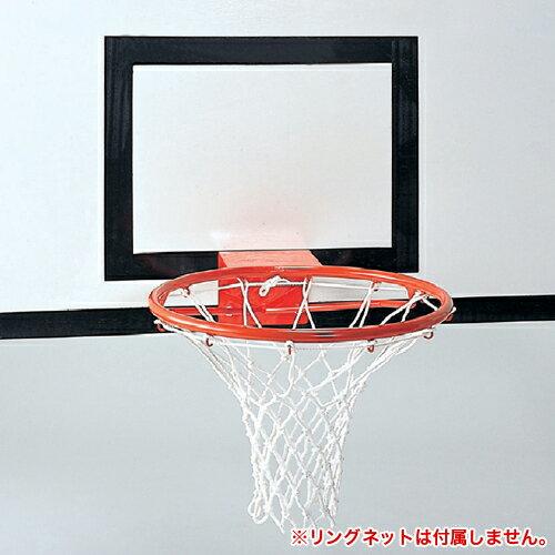 バスケットボード リング セット 一般用 新規格 交換 ゴール バスケットボール バスケ 学校 部活 授業 体育用品 校庭 公園 スポーツ施設 試合 設備 S-0335S:LOOKIT オフィス家具 インテリア
