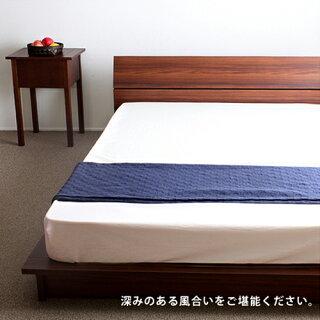 【期間限定!全品ポイント5倍~】ローベッドダブルステージベッドロータイプベッドフレームのみヘッドボード低床ベッドすのこ桐簡単組立国産ベッドGMB127-D