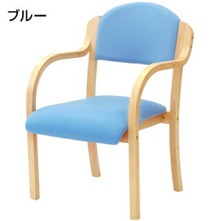 ダイニングチェア木製完成品スタッキングチェア椅子肘掛肘付きビニールレザーダイニングチェア介護施設病院待合室いす優しい丸みカーブUHE-1
