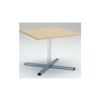 ダイニングテーブル幅90×奥行90cm送料無料十字脚タイプ正方形テーブル食堂テーブルランチテーブルオフィス家具休憩スペース9313BA-MP