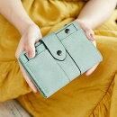 6color二つ折財布小さい財布ミニ財布小銭入れレディースファスナーパスケース財布コインケースさいふサイフこぜにいれ小銭入れコインケース小銭入