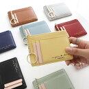 ☆目玉商品5colorminiwalletパスケースミニ財布小銭入れカードケース薄型パスケース