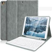 iPad 10.2 キーボード ケース 第7世代 iPad 8 第8世代 2020秋発売の最新版 ペンシルホルダー付き iPad 10.2 iPad Air3 Pro 10.5 ...