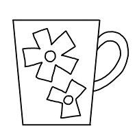 【極太毛糸用パンチニードル(ポルトガル製)】<七段階アジャスタ>お花のマブカップの図案、糸見本、オリジナル糸通し付き[ニードルパンチ毛糸手芸]