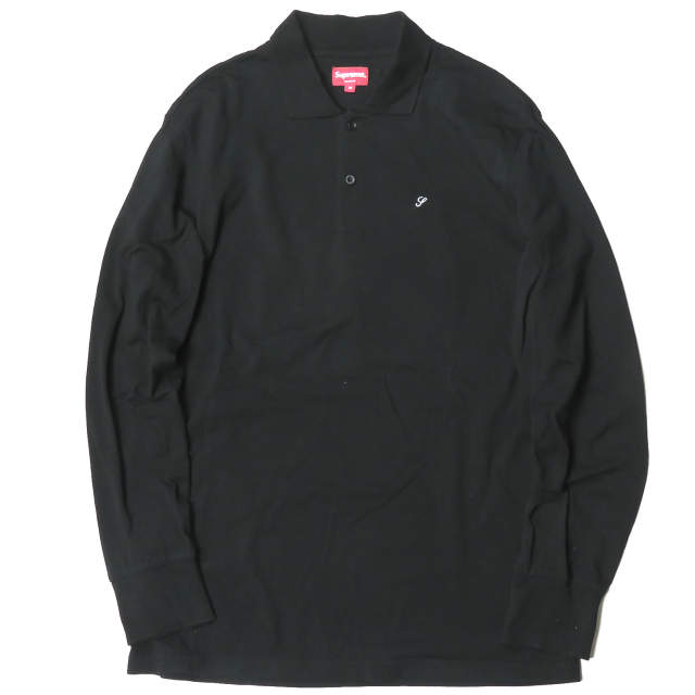 トップス, ポロシャツ Supreme 14AW Solid LS Polo M Supreme