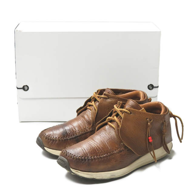 メンズ靴, モカシン visvim 17AW FBT (RED DEER) 0117201001001 US9(27cm) BROWN visvim