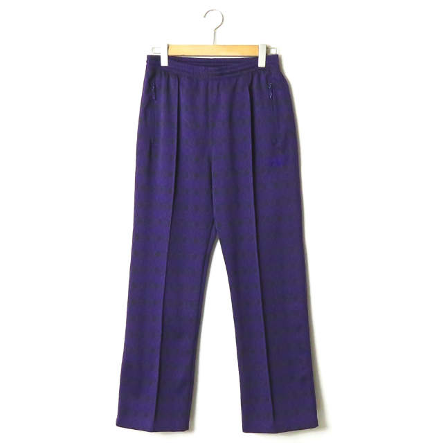 メンズファッション, ズボン・パンツ Needles 19SS Track Pant Poly Jacquard Diamond FK202 M Needles