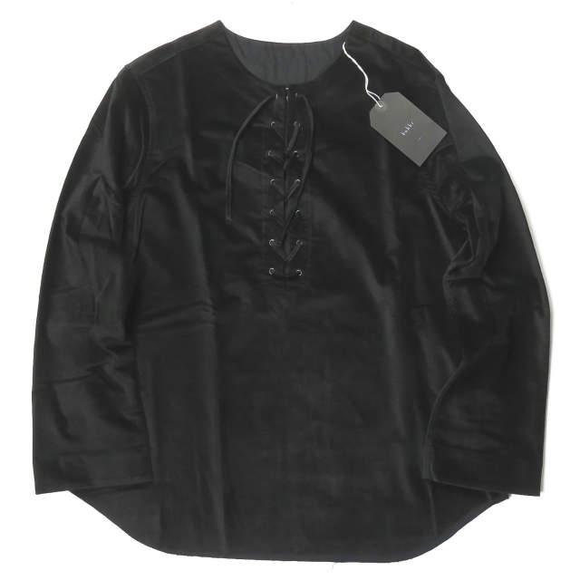 トップス, カジュアルシャツ bukht LACE UP SHIRT - Velor B-MB85202 1(S) bukht