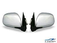 ハイエース/レジアスエース200系S-GL電動格納/電動調整メッキドアミラー左右セットH16〜