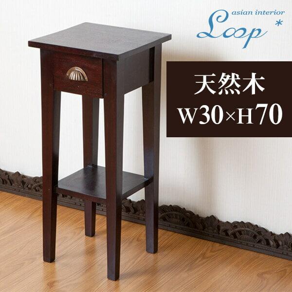 置き場所を選ばないコンパクトサイドテーブル