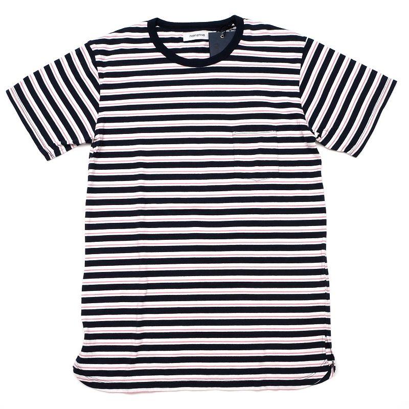 トップス, Tシャツ・カットソー  nonnative T 2 NN-C3509 DWELLER SS TEE COTTON JERSEY BORDER 5F25E02429SMCLSYMHM