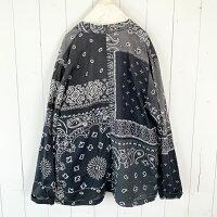 KAPITALガーゼバンダナパッチワークPTKAKASHIシャツ