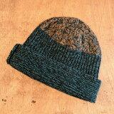 homspun【ホームスパン】手編み帽