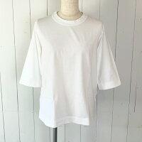 homspun天竺六分袖Tシャツ