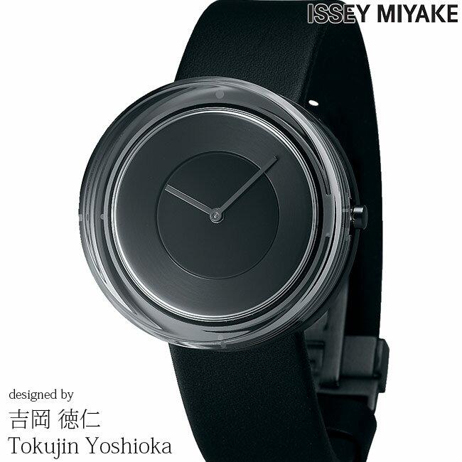 腕時計, 男女兼用腕時計 ISSEY MIYAKE 39mm YOSHIOKA TOKUJINN Glass Watch NYAH002