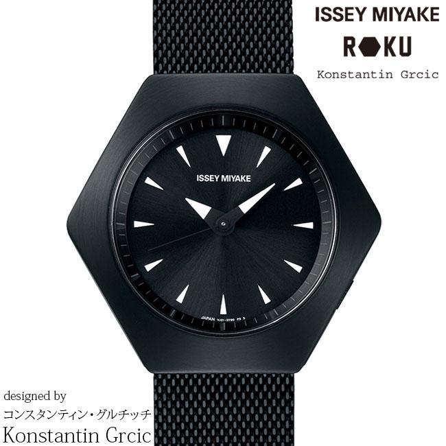 腕時計, 男女兼用腕時計 5000OFFISSEY MIYAKE ROKU NYAM002 Konstantin Grcic
