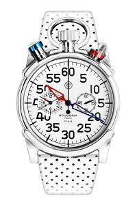 当日つかえるラ・クーポン有り♪CT スクーデリア CORSA コルサ メンズ腕時計 クロノグラフ ホワ...