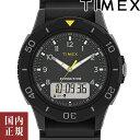 最大5000円クーポン有り!タイメックス 腕時計 メンズ カトマイ コンボ 40mm アナデジ オールブラック TIMEX TW4B18300 安心の正規品 代引手数料無料 送料無料 あす楽 即納可能