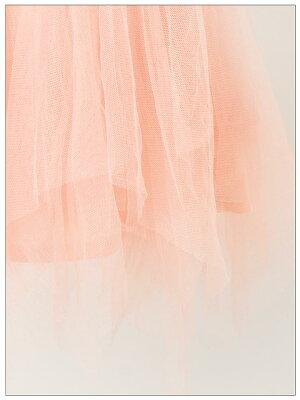 [1/26再販]【あす楽】ドレス結婚式パーティードレスボリュームチュール花柄刺繍入りアシメキャミパーティードレス/Aラインミニドレス/フォーマルドレス[S/M/Lサイズ]【全3色】[レディースドレス結婚式partydress][dazzyangels]