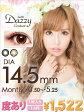 一枚売り カラコン 度あり カラーコンタクト 【直径14.5mm★度ありカラコン】Dazzy限定発売tutti DazzyContact/デジコン[2枚両目/コンタクトレンズ/color contact lens] デイジー